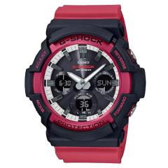CASIO卡西欧男表硬碰硬系列G-SHOCK时尚运动防震防摔防水双显红色学生自动LED照明男士手表图片