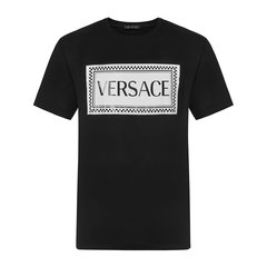 VERSACE/范思哲白色/黑色/红色 男士短袖T恤【官方授权】图片