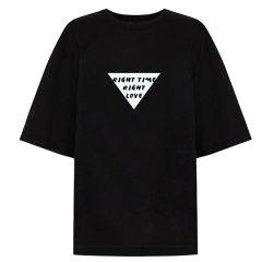 VHNY/VHNY全棉简约宽松女士短袖T恤vhny2t图片