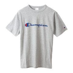 19年春夏 Champion/冠军 草写LOGO印花 男女同款 短袖运动T恤 日版 C3P302图片