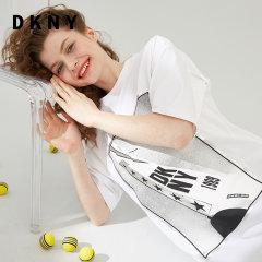 DKNY/唐娜 凯伦春夏新品棉质潮力印字休闲风轻盈面料应季女式女士连衣裙P9AD9AA5图片
