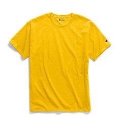19年春夏 Champion/冠军 【偏大一码】美版 宽松半袖 刺绣双标 运动 短袖T恤 男女 潮图片
