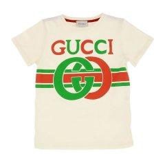 GUCCI/古驰 19年秋冬 gucci服装 男童 儿童T恤 561651XJBCG图片