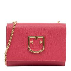 【包邮包税】FURLA/芙拉  女士红色mini 单肩包信封包链条包斜挎包女包1021379图片