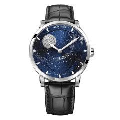 AGELOCER/艾戈勒 手表 博世月相系列 男表 机械表全自动 手表男 全景背透80小时长动能图片