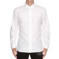Dior/迪奥 男装 服饰 白色棉质衬衣 男士长袖衬衫图片