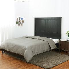 Fantti/芬缇 床上用品60支长绒棉贡缎纯色被套单件-被套图片