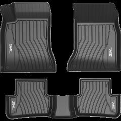 3W全TPE奔驰专用脚垫环保防水耐磨无异味/GLS/GLE/GLC/GLA/GL/ML定制专车专用汽车脚垫图片