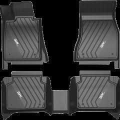 3W全TPE宝马专用脚垫环保防水耐磨无异味/x3/x4/x1/x6/x5定制专车专用汽车脚垫图片