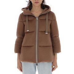 HERNO/HERNO 19年秋冬 棉服 女性 夹克 连帽 女士羽绒服 PI027DR 12255 1000图片