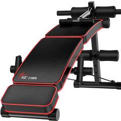 双超 suncao折叠仰卧板收腹器 仰卧起坐健身器材哑铃凳卧推运动 SC-SB052