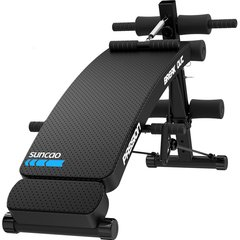 双超suncao家用健身器材 仰卧板 仰卧起坐收腹机仰卧板 透气面板头枕仰卧板 多功能收腹器健身板SC-SB024