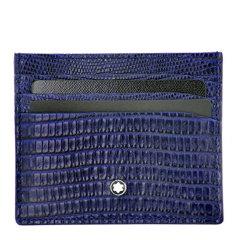 MontBlanc/万宝龙 男士商务时尚小牛皮卡包卡夹钱夹名片夹 多色可选 116297/116298图片