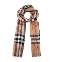 【19新款】BURBERRY/博柏利  男女同款 三色可选 格纹桑蚕丝混纺围巾 8015405图片