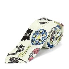 蚕丝领带BURBERRY/博柏利蚕丝印花男士领带