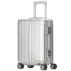 GLUX/古莱仕 全铝镁合金属箱万向轮20寸登机/24寸行李拉杆箱男女旅行箱子 铝镁合金 中性款式图片