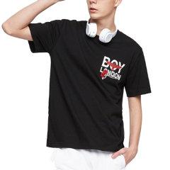 【特价】 BOYLONDON 韩版 男女同款  情侣款 休闲 短袖T恤   B92TS1102U图片