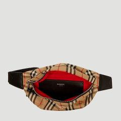 博柏利/BURBERRY 19年秋冬 单肩包 男性 小方包 Vintage 格纹 腰包 8010430 5图片