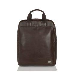 KNOMO/KNOMO Dale戴乐牛皮商务背提包真皮笔记本背包大容量双肩包图片