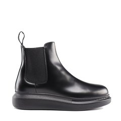 Alexander McQueen/亚历山大麦昆 19年秋冬 及裸靴 女性 切尔西靴 短靴 586398WHX52图片