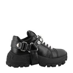 缪缪/Miu Miu 19年秋冬 跑步鞋 女性 健身鞋 系带 女士休闲运动鞋 5E735C 3D92 F0009图片