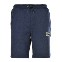 HUGO BOSS/雨果波士  男装 服饰  深蓝色棉质时尚工装男士短裤图片