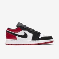 情侣款 Air jordan 1 Low aj1 乔1低帮 黑红脚趾 男女复刻篮球鞋 553560-116 553558-116图片
