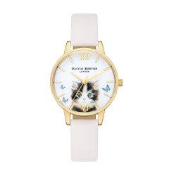 olivia burton/olivia burton腕表OB手表女猫咪圆形皮带英国进口时尚新品石英表OB16WL67图片