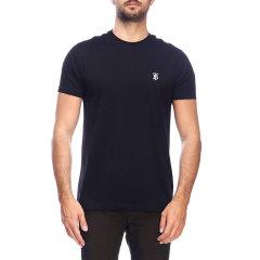 BURBERRY/博柏利 20年秋冬 logo 男性 圆领 黑色 男士短袖T恤 8014020图片