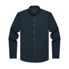 HAZZYS/哈吉斯2019年秋季新款英伦风格子男士长袖衬衫ASCZK19DF14图片