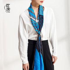 品牌:ytang/羿唐 羿唐丝绸原创设计红点获奖系列真丝雪纺典雅高贵丝巾系列长巾图片