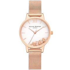 olivia burton/olivia burton腕表OB手表女个性圆形英国进口时尚潮流礼物石英表OB16CH01图片