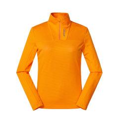 LAFUMA乐飞叶女士户外跑步健身弹力半拉链运动长袖T恤LFTS9AL10图片