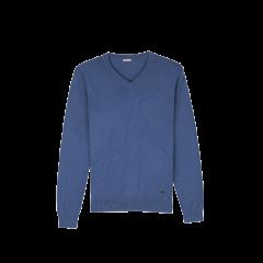 ERDOS/鄂尔多斯 19早秋新品 精纺V领长袖纯羊绒套衫男士针织衫/毛衣图片