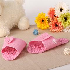 韩国进口足底穴位按摩拖鞋    利快cantos可折叠浴室防滑垫脚垫居室拖鞋 旅行出差便携拖图片