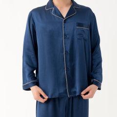 GeleiStory/GeleiStory真丝系列长睡袍衣男士家居服 店铺特惠图片