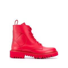 Valentino/华伦天奴 19年秋冬 及裸靴 女性 马丁靴 复古 短靴 SW2S0P39JZI_0NO NERO图片