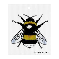 KATTINATT/KATTINATT瑞典 夜喵布 动物系列 双面吸水性好柔软亲肤柔巾无异味洁肤巾 洁肤巾中的爱马仕 动物图片