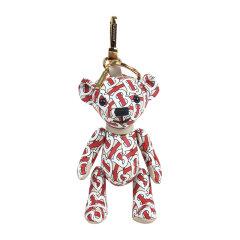 BURBERRY/博柏利  中性男女款皮革Thomas泰迪熊钥匙扣吊饰  8013440图片