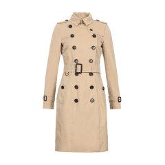 【20春夏】BURBERRY/博柏利 女士双色可选切尔西版长款Trench风衣大衣外套女士风衣 蜂蜜色 石色 4013316图片