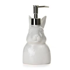 创意摆件陶瓷简约按压式家用家居饰品动物沐浴瓶图片