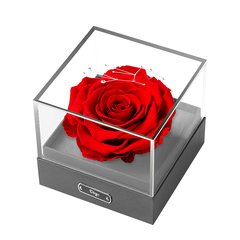 JoyFlower七夕情人节礼物生日礼物进口永生花礼盒十二星座玫瑰花礼盒图片