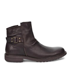 UGG2019秋季新款男士靴子方跟系带高筒马丁靴1103753图片