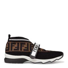 FENDI/芬迪 【20春夏新款】女士时尚双F印花休闲鞋运动鞋跑步鞋平底鞋女鞋 多色可选图片
