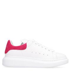 Alexander McQueen/亚历山大麦昆 20年春夏 板鞋 黑尾 女性 拼色 系带 女士休闲运动鞋 553770 WHGP7 9061图片