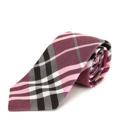 BURBERRY/博柏利 玫瑰粉色男士领带