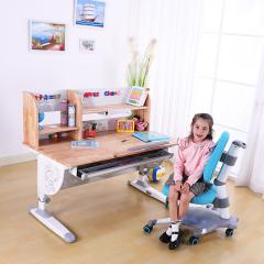 DASENQI/达森奇 201系列 儿童学习桌 可升降多功能实木家用学习书课桌图片