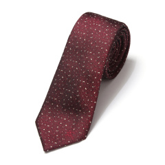 BURBERRY/博柏利 酒红色男士领带