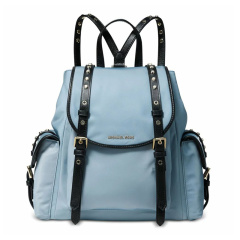 Michael Kors/迈克·科尔斯 20春夏  女士尼龙时尚小号翻盖书包背包双肩包图片