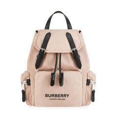 BURBERRY/博柏利 19秋冬 女士聚酰胺亚克力纤维材质:其它中号品牌logo徽标印花双肩包  DX图片